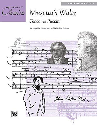 Musetta's Waltz: Sheet (Simply Classics Solos)