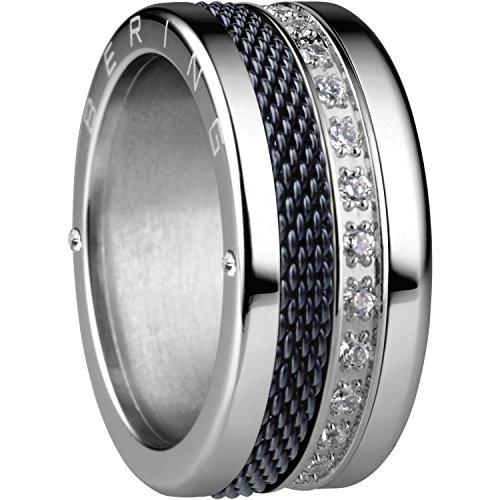 Bering Damen-Ringe Edelstahl mit Ringgröße 68 (21.6) Petersburg 12