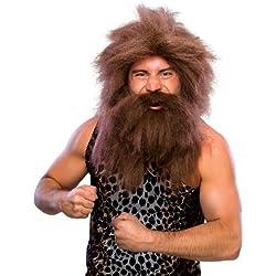 Rubie's - Complemento de disfraz Peluca y barba cavernícola (50821)