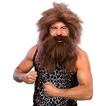 Rubie's - Peluca y barba cavernícola (50821)