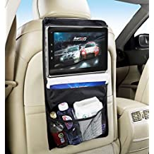 Soporte tablet coche, organizador coche, soporte coche tablet, organizador asiento coche, soporte reposacabezas tablet, soporte reposacabezas para tablet, soporte de coche universal para tablet, soporte universal para tablet, soporte de coche para reposacabezas. Compatible con iPad 2/3/4/ , Ipad Air, Ipad Mini, Galaxy Tab/Tab S/Note Pro, Nexus 7, Kindle Fire HD 6/7 Fire HDX 7/8.9 Fire 2, etc. Negro