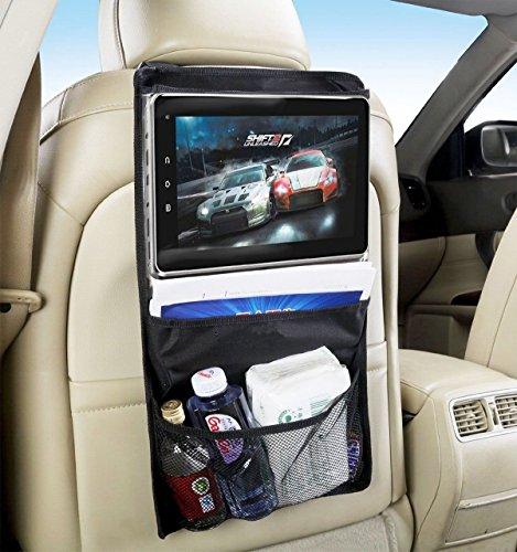"""Preisvergleich Produktbild Tablet halterung auto, tablet halter auto, rücksitz organizer, tablet autohalterung, kfz halterung, tablet halterung kopfstütze, auto rücksitz organizer, tablet halter kfz, tablet halterung kfz. Kompatibel mit allen tablets bis 14 """": iPad 2/3/4/ , Ipad Air, Ipad Mini, Galaxy Tab Tab S Note Pro, Nexus 7, Kindle Fire HD 6 7 Fire HDX 7 8.9 Fire 2, usw."""