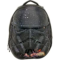 Zaino Galaxy Helmet Star Wars Stormtrooper nero 3D modellato