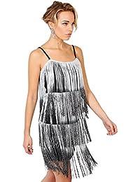 KRISP® Femme Robe moulante Charleston
