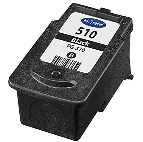 Canon PG510 Remanufactured Black Ink Cartridge for use with Canon Pixma MP230, MP240, MP250, MP252, MP260, MP270, MP272, MP280, MP282, MP330, MP480, MP490, MP492, MP495 and MP499 Printers by Ink