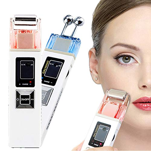 YA Galvanic Microcurrent Skin Firming Whiting Machine Iontophoresis Anti-Aging Massager Skin Care SPA Salon Beauty