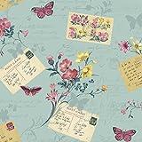 Arthouse Sophie Conran Reflections Luxury Wallpaper Wallpaper Postcards Home Blue Haze 950902