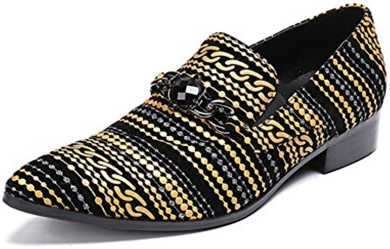Zapatos de los Hombres Novedad/Mocasines Primavera/Otoño / Invierno Zapatos Formales Novedad Oxfords para el Banquete  -
