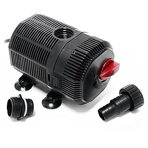 SunSun CQB-2500 SuperECO Pompe de bassin pour cours d'eau ou filtre étang 45W 2700l/h