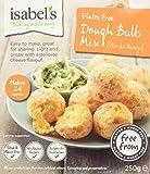 Isabel's Gluten Free Dough Balls Mix, 250g (Pack of 4)