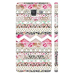 Samsung Galaxy A5 Aztec Art 4 designer mobile hard shell case by Enthopia