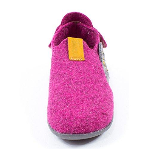 Babybotte chaussons rose gris JUNON Rose