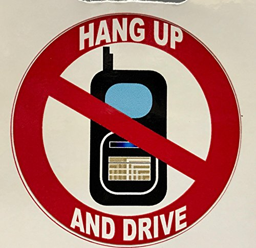 hang-up-and-drive-self-adhesive-sticker-fun-car-motor-vehicle-home-window-sign
