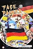 Fan-Schminke Schminkstift Fussballschminke WM Deutschland-Schminke schwarz rot gelb