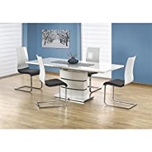 Amazon Fr Table Pied Central Rallonges