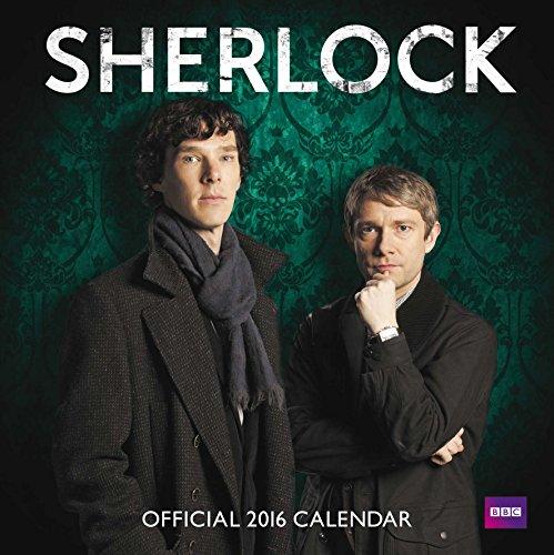 The Official Sherlock 2016 Square Calendar por Stapled