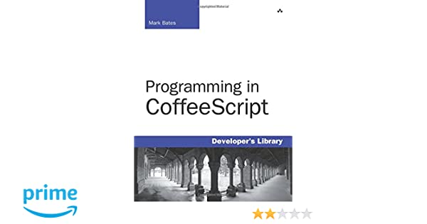 programming in coffeescript bates mark