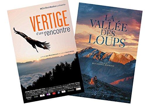 LA VALLEE DES LOUPS + VERTIGE D'UNE RENCONTRE 2DVD JEAN MICHEL BERTRAND
