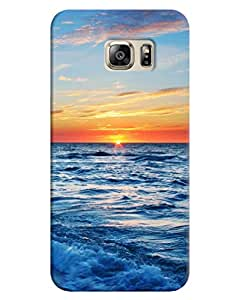 FurnishFantasy 3D Printed Designer Back Case Cover for Samsung Galaxy S6 Edge Plus