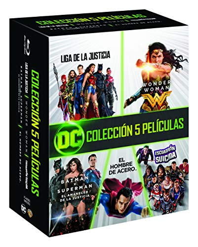 Pack: 5 películas DC