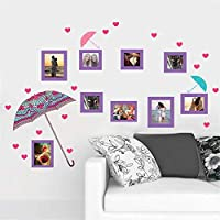 Wall paint Self-Adhesive Background Wall,Creative Photo Wallsticker Living Room Tv Wall Decoration Pictures Are on Wall Posters Wall-,Love Photo Wall,Decorative Waterproof Stickers