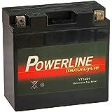 YT14B-4 Powerline Batterie Moto 12V 12Ah YT14B4
