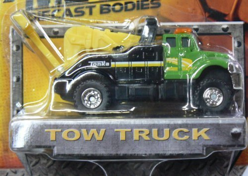 Tonka Metal Diecast Bodies - Tow Truck - Green/Black by Tonka