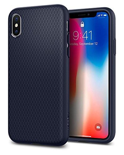 iPhone-X-Hlle-Spigen-Liquid-Air-Soft-Flex-Silikon-Mageschneidert-Passgenau-TPU-Capsule-Luftpolster-Air-Cushion-Technologie-Handyhlle-Schutzhlle-fr-Apple-iPhone-X-Case-Cover