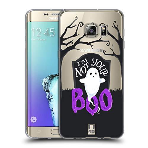 Head Case Designs Friedhof-Geist Halloween Figuren Soft Gel Hülle für Samsung Galaxy S6 Edge+ / Plus