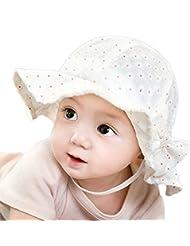 Demarkt Sombrero Princesas de poliéster Sombrero Deporte al Aire Libre con estampado flores para Bebés - blanco