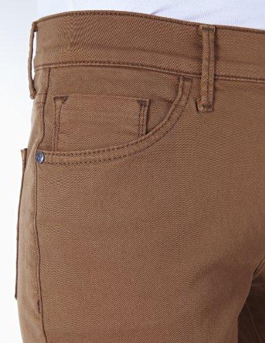 Pioneer Damen Hose Regular Fit KATE 3213_5101_29 Straight (Gerades Bein) Braun (29 toffie)