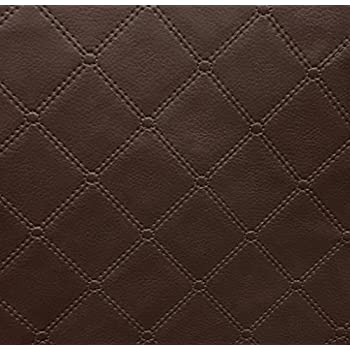 black diamond quilted padded cushion faux leather car interior soft upholstery fabric. Black Bedroom Furniture Sets. Home Design Ideas
