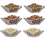 #10: PRAX Designer Classic Crystal touch Bowles 6 pieces