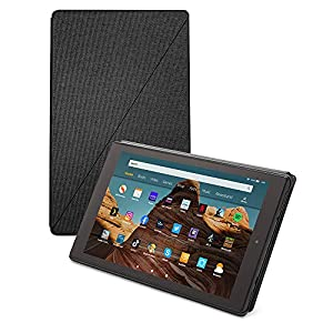 Fire HD 10 tablet case | Compatible with 9th generation tablet (2019 release), Charcoal Black