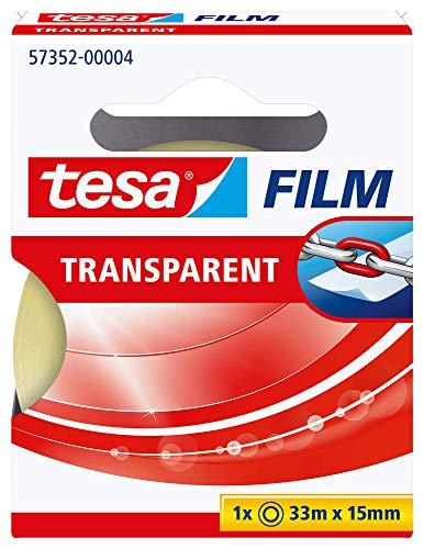 TESA 57352-00004-00 Cinta Adhesiva tesafilm Transparent