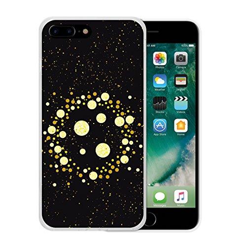 iPhone 7 Plus Hülle, WoowCase Handyhülle Silikon für [ iPhone 7 Plus ] Keep Calm and Be a Princess Handytasche Handy Cover Case Schutzhülle Flexible TPU - Transparent Housse Gel iPhone 7 Plus Transparent D0433