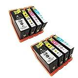 Best Imprimantes Lexmark économiques - Karl Aiken 8x Cartouches d'encre compatible pour Lexmark Review