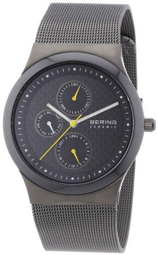BERING Herren-Armbanduhr Analog Quarz Edelstahl 32139-222