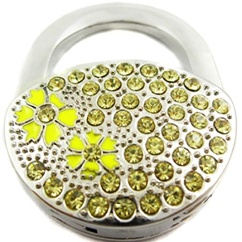 kilofly Purse Hook Scelte * * 6* *, pieghevole, Addison Yellow