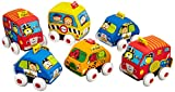 Hamleys Kkids Pull-Back Autos,Multi Color