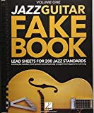 Jazz Guitar Fake Book: Lead Sheets for 200 Jazz Standards: Including the melodies, chord symbols and professionally arranged chord diagrams for each song
