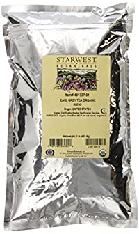 Starwest Botanicals Organic Earl Grey Tea, 1-pound Bag