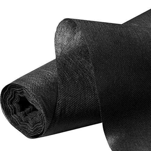 Probache - Feutre Toile de paillage 1m x 15 m Noir