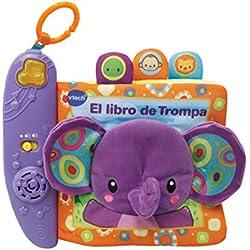 VTech Baby - El Libro de Trompa, juguete interactivo (Vtech 3480-189322)