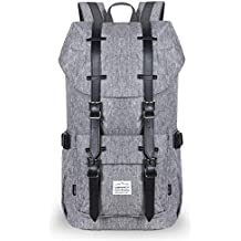 VENTCY Mochila Hombre Mujer Casual Escolar Mochila Portatil 14-15.6 Pulgadas Backpack Moderna Sencillay Cremallera