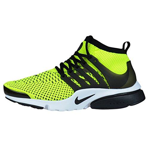 Nike Air Presto Flyknit Ultra, Chaussures de Running Entrainement Homme, Bleu, 42 EU volt, black-white