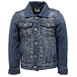 Dolce & Gabbana 5699X Giacca Bimbo D&G JUNIOR Blue Boy Jacket [4 Years]