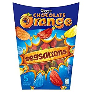 Chocolat Terry orange Segsations (330g) - Paquet de 2