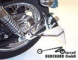 Seitlicher Kennzeichenhalter Harley Davidson Sportster XL2 1