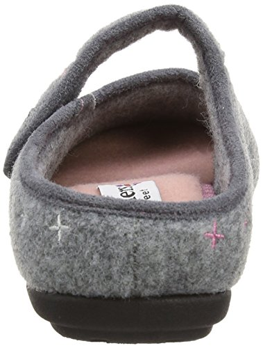 Padders Heidi, Chaussons femme Gris - Gris